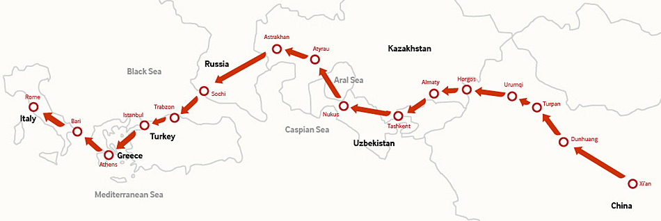 One Belt and One Road -- Beijing Review
